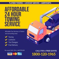towing service instagram template
