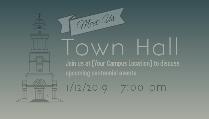 2019 Green Town Hall Meeting