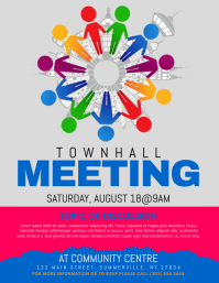 Townhall Meeting Flyer