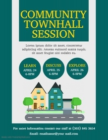 Townhall Session Flyer