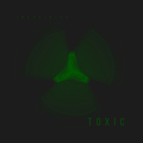 Toxic Abstract CD Cover Art Template