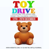 TOY DRIVE AD Template