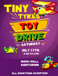 TOY DRIVE Volante (Carta US) template