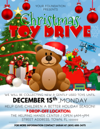 Toy Drive Flyer (US Letter) template