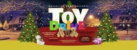 Toy Drive Facebook Cover Photo template