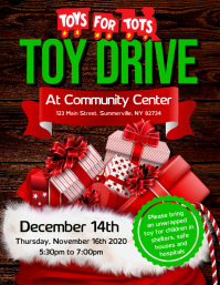 Toy Drive Flyer