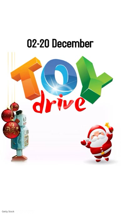 Toy Drive Instagram Post template