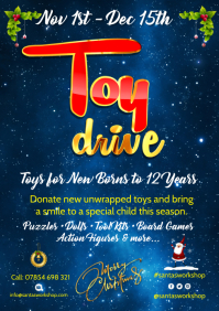 Toy Drive Poster