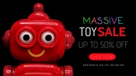 Toy Sale Facebook Event Video Cover template