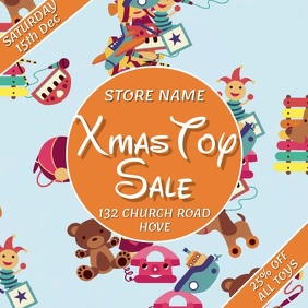 Toy Sale Video Template Square (1:1)