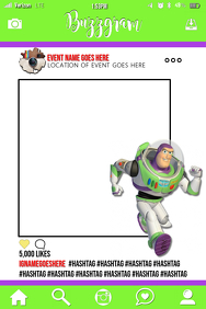 Toy Story Party Prop Frame