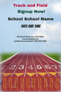Track and Field Signup