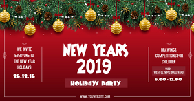 Traditional New Year Ticket Template