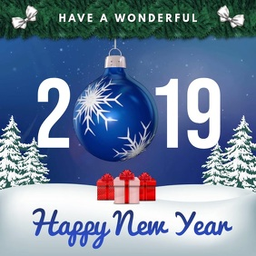 Traditional New Year Wish Instagram Video Template