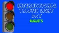 Traffic Light Day Template Digital Display (16:9)