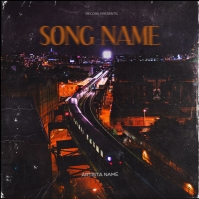 Train New York Mixtape Cover Design Template