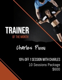 Trainer of the month
