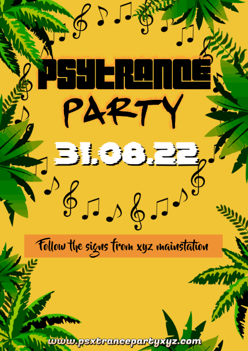 Trance Psytrance Eletronic Music Electro Sound Festival