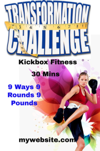 Transform Challenge Kickbox Fitness