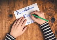 translation day Kartu Pos template
