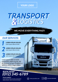 Transport & Logistics Flyer