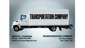 TRANSPORTATION TRUCKING COMPANY TEMPLATE Ikhadi Lebhizinisi