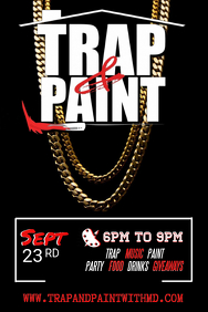 Trap & Paint Flyer