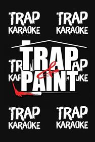Trap & Paint Party Backdrop