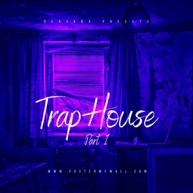 Trap House Mixtape CD Cover