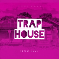 Trap House Mixtape Cover Art Template