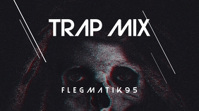 Trap Mix Skull Youtube Thumbnail template