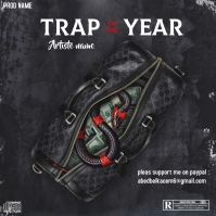 Trap of the year - CD COVER ART - Capa de álbum template