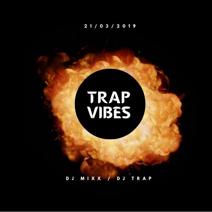 Trap Vibes Cuadrado (1:1) template