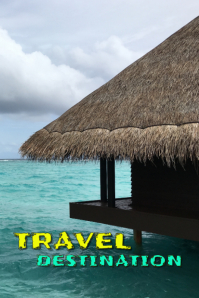 Travel; holiday, book template
