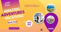 Travel & Tour Ads Anuncio de Facebook template