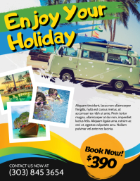 Travel & Tour Flyer