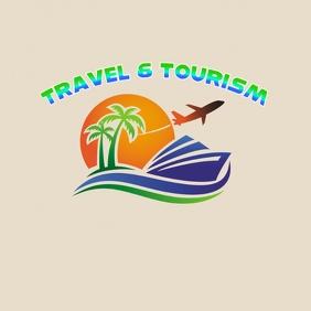 travel & tourism logo template