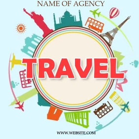 TRAVEL AD SOCIAL MEDIA TEMPLATE