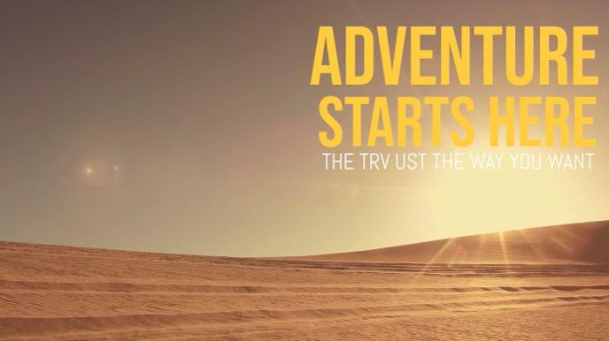 Travel Adventure Video Display Template