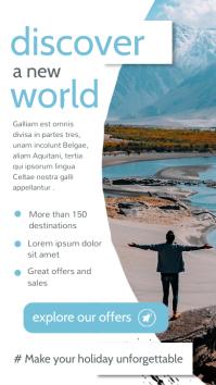 travel agency advertisement instagram story b template