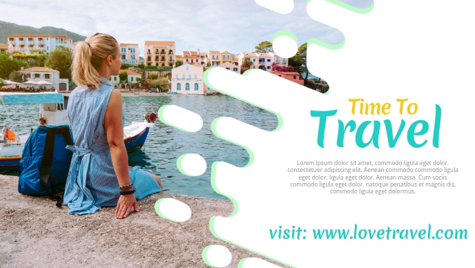 Travel agency facebook cover