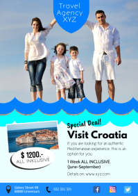 Travel Agency Holiday Tour Trip Beach Ad