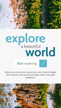 travel agency instagram story advertisement b template