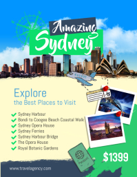 Travel Agency Flyer Poster Template