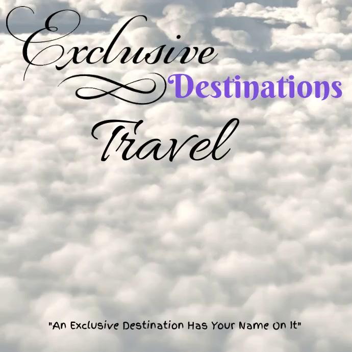 Travel Agency Template Instagram-bericht
