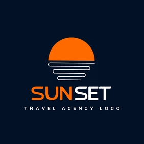 travel agency travel tour guide logo template