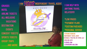 travel agent flyer