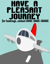 Travel agent poster