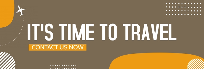 travel and tour LinkedIn-banner template
