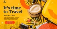 travel and tour Immagine condivisa di Facebook template
